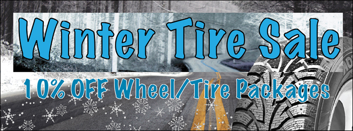 Winter Tire Sale